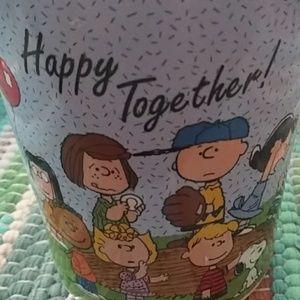The peanuts gang mug